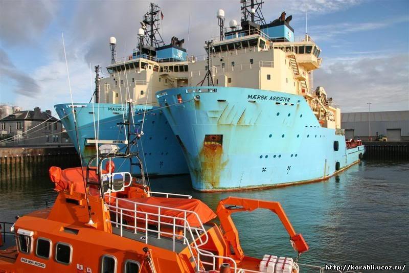 Maersk Assister и Maersk Advancer