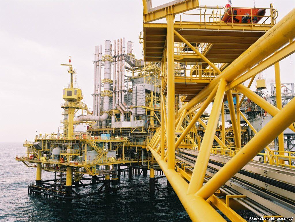 буровая платформа компании Maersk